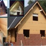 Einblasdämmung für Holzhäuser